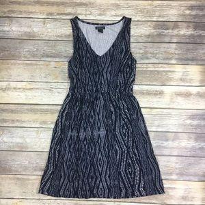 {Lucky Brand} Sleeveless V-Neck Dress Sz S